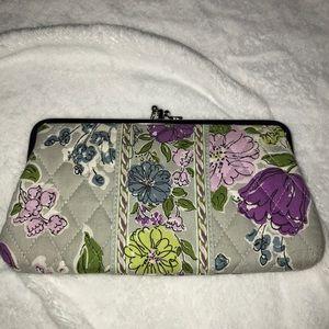 Grey Vera Bradley Clutch Wallet